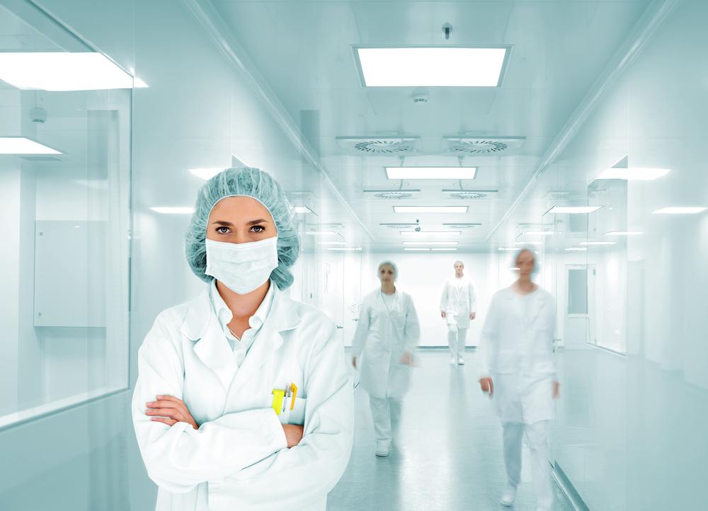 Surgeon at medical facility